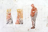 37 x 49 cm, technique mixte sur papier