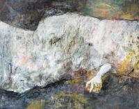 80 x 100 cm, technique mixte sur papier marouflé sur toile