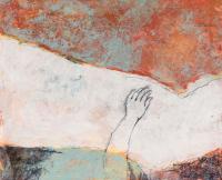 50 x 60 cm, technique mixte sur papier marouflé sur toile