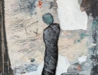 50 x 65 cm, technique mixte, papier marouflé sur toile
